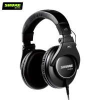 舒尔SRH840全封闭专业录音头戴式监听耳机