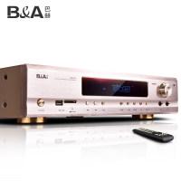 B&A/巴赫 100F功放机家用大功率5.1声道专业HIFI发烧数字蓝牙AV空放机HDMI高清影院卡拉OK音响重低音功放