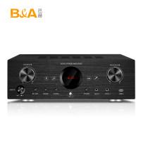B&A/巴赫 E4智能语音网络5.1声道功放机家用大功率放大器播放机